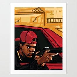 Ricky! Art Print