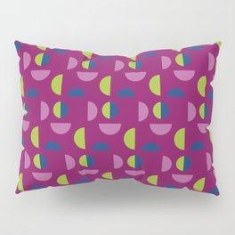 Modern bold geometric abstract faces - pattern Pillow Sham