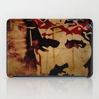 christ iPad Cases featuring Jesus Christ by Ed Pires