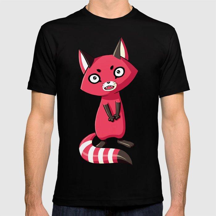 Shy Raccoon T-shirt