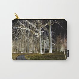 A Walk in the Park - Inverted Art Carry-All Pouch