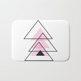 Minimalist Triangle Series 003 Bath Mat