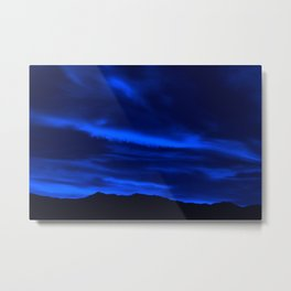 SW Midnight Blue Morning Metal Print