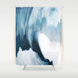 Free Wave Rising Shower Curtain