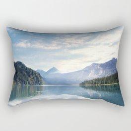 Wanderlust - Mountains, Lake, Forest Rectangular Pillow