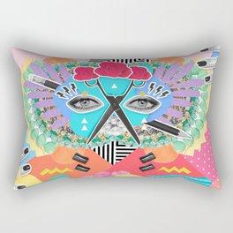 Collage Fest Rectangular Pillow