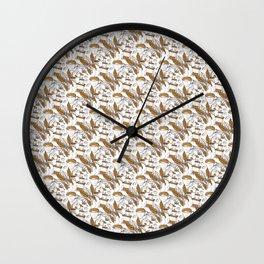 Coffee coffee drinker coffee lover pattern Wall Clock