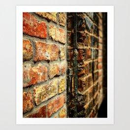 Bricks (Foreground) Art Print