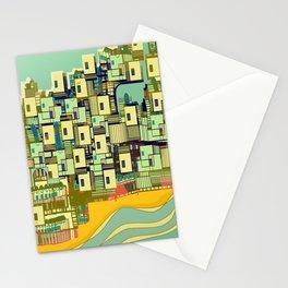 Mediterranean Coast Stationery Cards