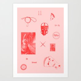 Eros III Art Print