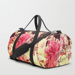Smell the Flowers Duffle Bag