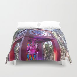 Electric Forest Duvet Cover