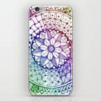 zen iPhone & iPod Skins featuring Zen by Alohalani