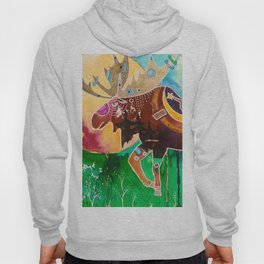Fantastic Moose - Animal - by LiliFlore Hoody