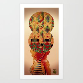 SEE OF CONSCIOUSNESS Art Print