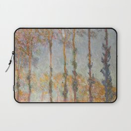 Claude Monet, French, 1840-1926  Poplars on the Bank of the Epte River Laptop Sleeve