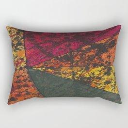 Corner Splatter # 11 Rectangular Pillow