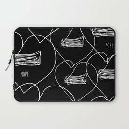 nope! Laptop Sleeve