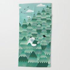 Tree Hugger (Spring & Summer version) Beach Towel