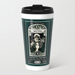 Metamorphosis by The Wolf Man: A Full Service Hair Salon (Vintage) Travel Mug