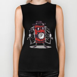 what time is it? it's time to explode Biker Tank