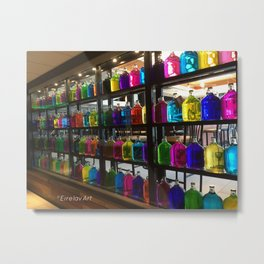 Rainbow Jugs Metal Print