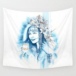Miss Yakutsk Wall Tapestry