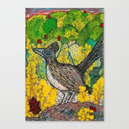 Road Runner at Rest Canvas Print