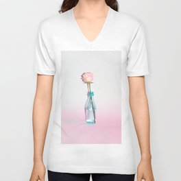 Rose Water Unisex V-Neck