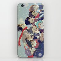 haikyuu iPhone & iPod Skins featuring Haikyuu!! by x3uu