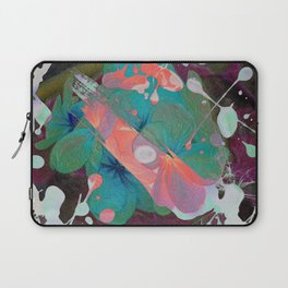 Abstract Acidic Flower Laptop Sleeve