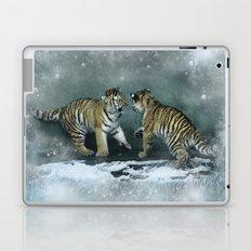 Playful Tiger Cubs Laptop & iPad Skin