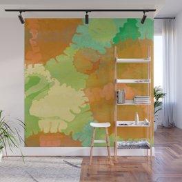 Tâches colorées Wall Mural