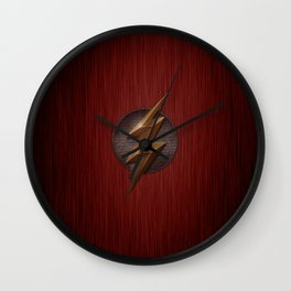 Flash logo Wall Clock
