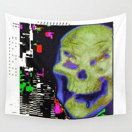 Erorr Skull Wall Tapestry