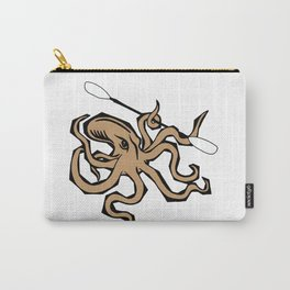 Paddling Octopus | Paddling Designs | DopeyArt Carry-All Pouch