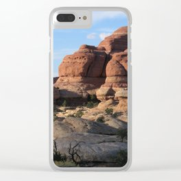 Canyonlands Domes Clear iPhone Case