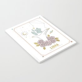 Libra Zodiac Series Notebook