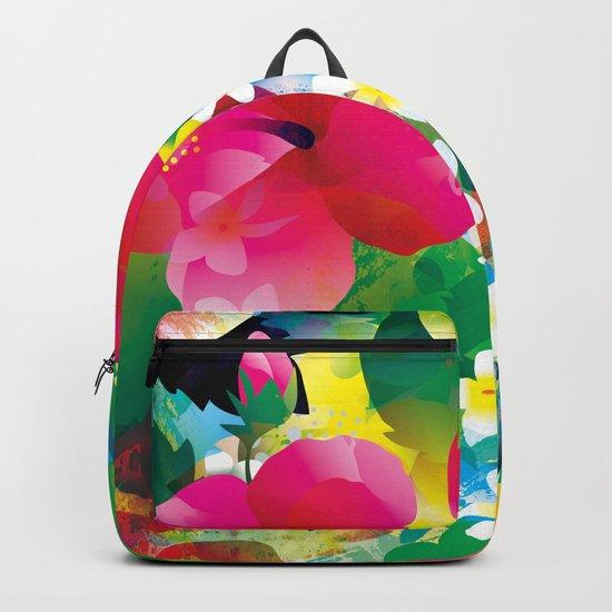 Hawaiian jungle Backpack