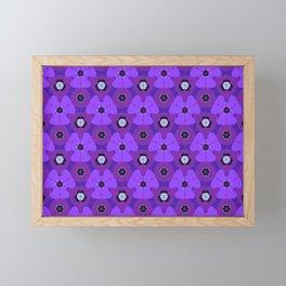 So Purple Framed Mini Art Print