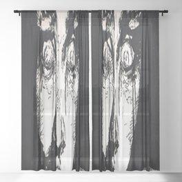 Fright Sheer Curtain
