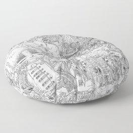 Contamination Floor Pillow