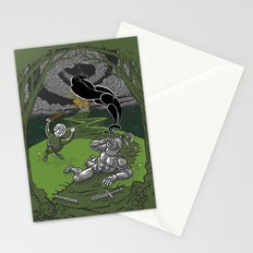 Happy Knight Stationery Cards