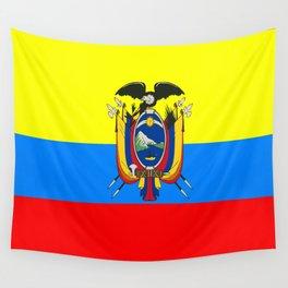 Flag of Ecuador Wall Tapestry