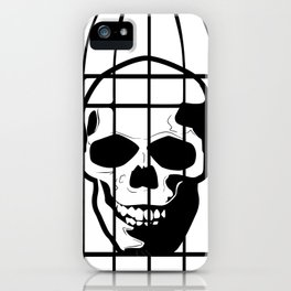 Skull Caged iPhone Case