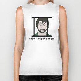 Hello, Doctor Lecter Biker Tank