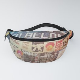 Build the world that you want to belong I Fanny Pack