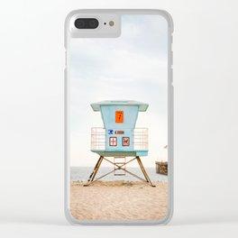 Ventura #7 Clear iPhone Case