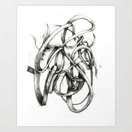 Bacon Ampersand Art Print