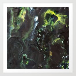 """Color Commentary #4: """"Long Live Duke Leto!"""" (Black & Green) [Lys Phillips] Art Print"""
